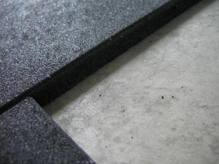 piso de borracha em placas para peso livre