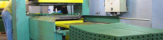 Fabrica piso borracha reciclada