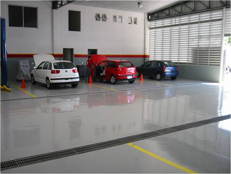 Piso para Garagens